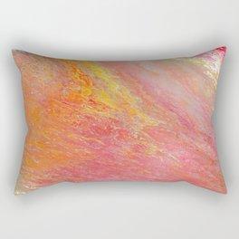 Vibrant Motions Rectangular Pillow