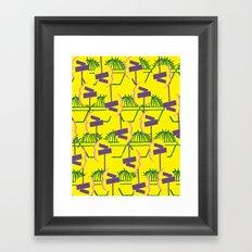 Blooming at a Crossroads Framed Art Print