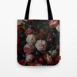 Vintage & Shabby Chic - Dutch Midnight Garden Tote Bag