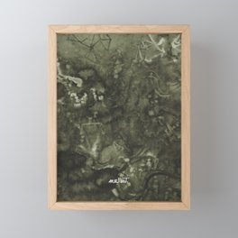 How the Ink Moves IX Framed Mini Art Print