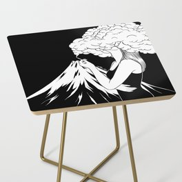 Head in the Clouds Side Table