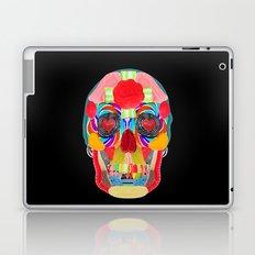 Sweet Sweet Sugar Skull On Black Laptop & iPad Skin