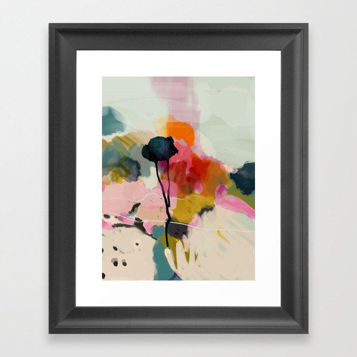 paysage abstract Gerahmter Kunstdruck