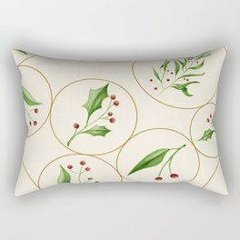 Berries Baubles #society6 #xmas Rectangular Pillow