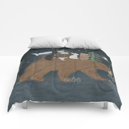 the moon bear Comforters