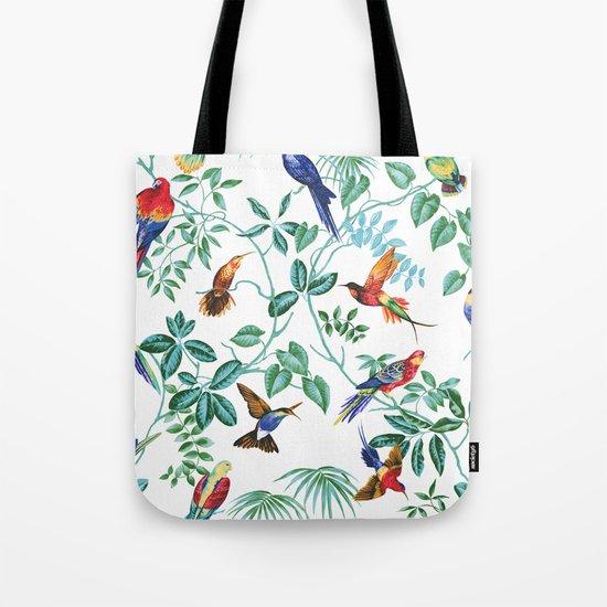 Jungle Birds II Tote Bag