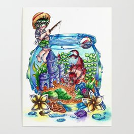 Fishing for Mermen Poster