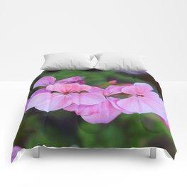 Bloom Through Change Comforters