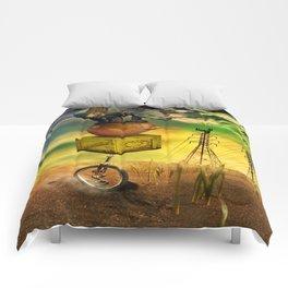 Freewheeling field maneuvers Comforters