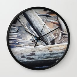 Forest Trees Wall Clock