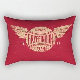 Vintage Gryffindor Quidditch Team Rectangular Pillow