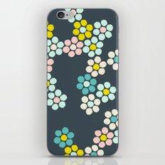 Flower tiles iPhone & iPod Skin