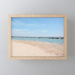 AFE Toronto Centre Island Beach Framed Mini Art Print