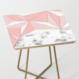 Marble & Geometry 042 Side Table