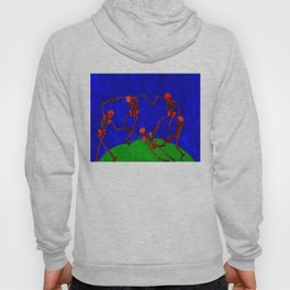 Red Dance, after Matisse Hoody