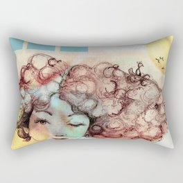 Birds Nest Rectangular Pillow