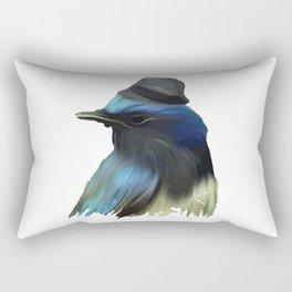 B/ue Robin Rectangular Pillow