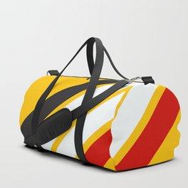 Oldschool Retro Stripes Duffle Bag