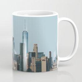 Manhattan Skyline, New York Travel Artwork Coffee Mug