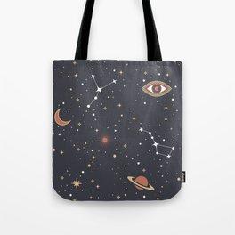 Mystical Galaxy Tote Bag