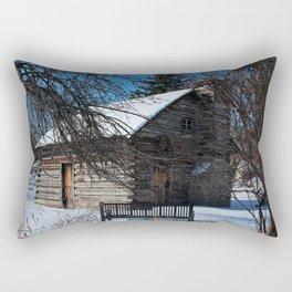 Peter Navarre Cabin IV Rectangular Pillow