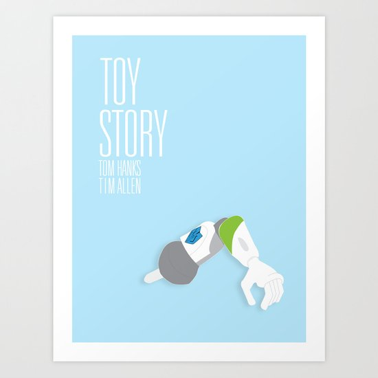 Toy Story Movie Poster. Art Print