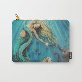 The Mermaid's Gift Carry-All Pouch