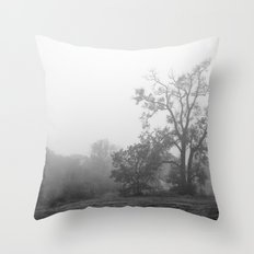 The Hawk Tree Throw Pillow