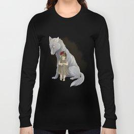 neither human nor wolf Long Sleeve T-shirt