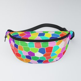 Rainbow Stained Glass Fanny Pack