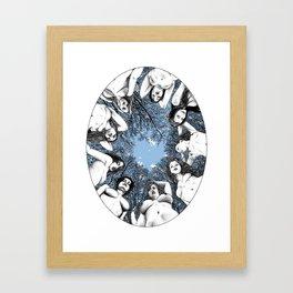 asc 783 Les piliers du ciel (The last meal) Framed Art Print