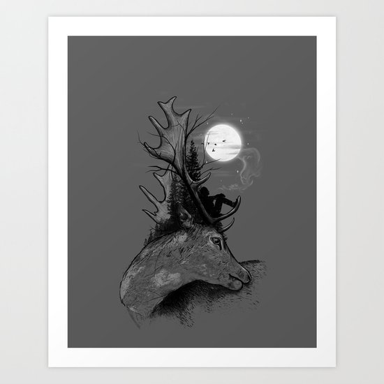 A Long December Art Print