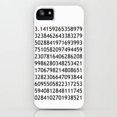 pi white - never ending story iPhone (5, 5s) Slim Case