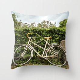 Copenhagen Bike Throw Pillow