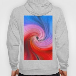 Light Fibers Color Waves Meeting Vortex Hoody