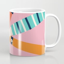 Holding hands circle Coffee Mug