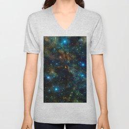 Star Formation Unisex V-Neck