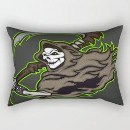 grim reaper ,grim reaper tattoos Rectangular Pillow
