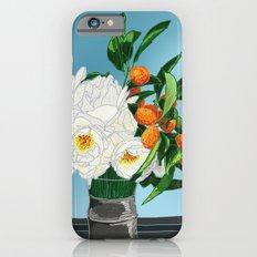 White Roses & Tangerines iPhone 6s Slim Case
