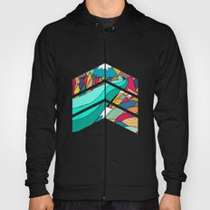 River in the mountains Hoody