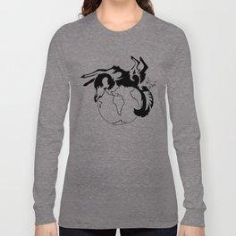 Earth Wolf Long Sleeve T-shirt