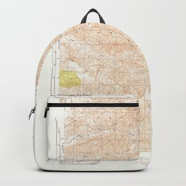 San Guillermo, CA from 1944 Vintage Map - High Quality Backpack