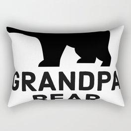 Grandpa Bear Rectangular Pillow