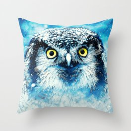 Hunter of the North Throw Pillow