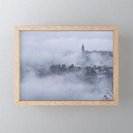 Serene morning Framed Mini Art Print
