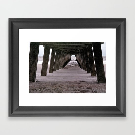 The Square Abyss  Framed Art Print