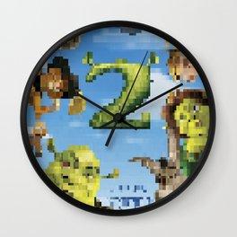 Shrek 2 tshirt Wall Clock