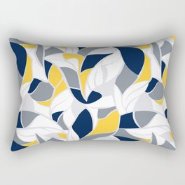 Abstract winter mood II Rectangular Pillow