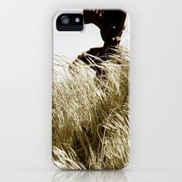 Tall Grass in the Wind iPhone Case
