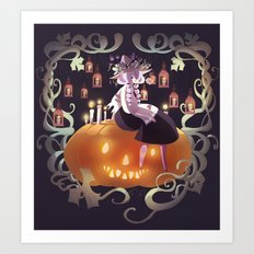 Halloween 2015 Art Print